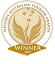 Western Australia Tourism Awards Winner 2007