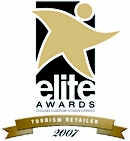 Elite Tourism Retailer Award Winner 2007